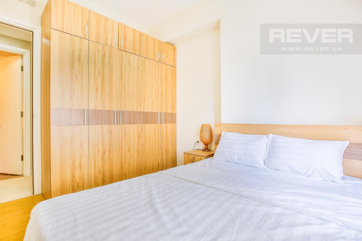 Nội thất phòng ngủ chính Căn hộ hướng Đông Bắc trung tầng T1A Masteri Thảo Điền