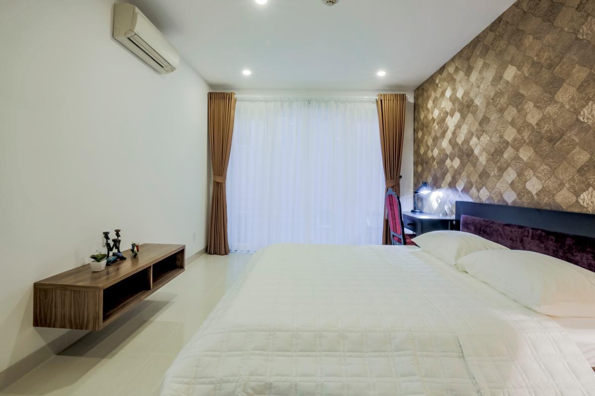 Phòng ngủ chính Căn hộ 2 phòng ngủ Võ Văn Tần
