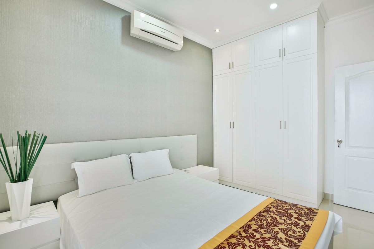 Phòng ngủ Căn góc tầng cao CK Riverside Residence