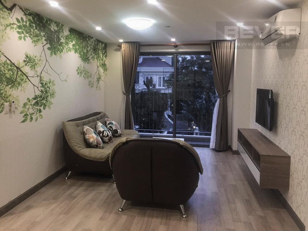 Căn hộ 2 phòng ngủ tháp T4 Masteri Thảo Điền