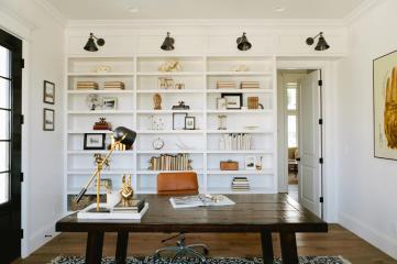 8 ý tưởng tuyệt vời cho bàn làm việc tại nhà