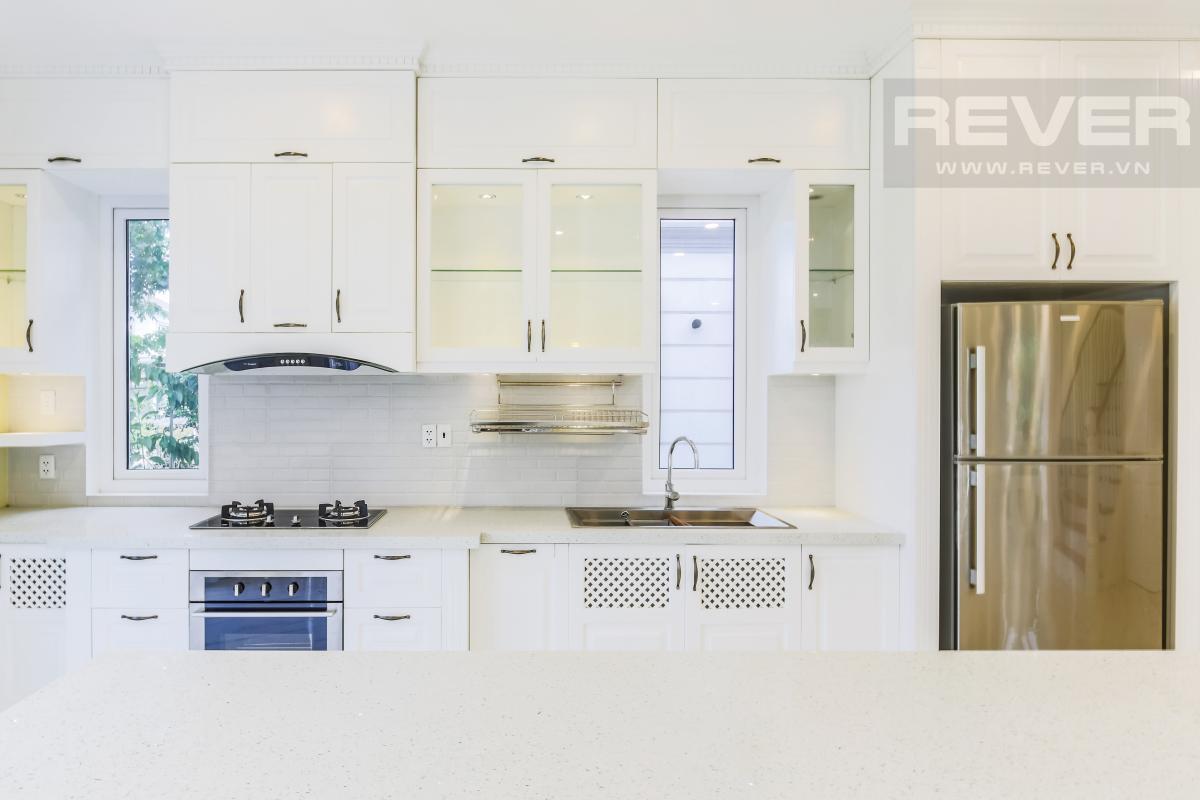 Phòng bếp với trang thiết bị hiện đại Villa sân vườn hướng Tây Bắc Thủ Đức Garden Homes