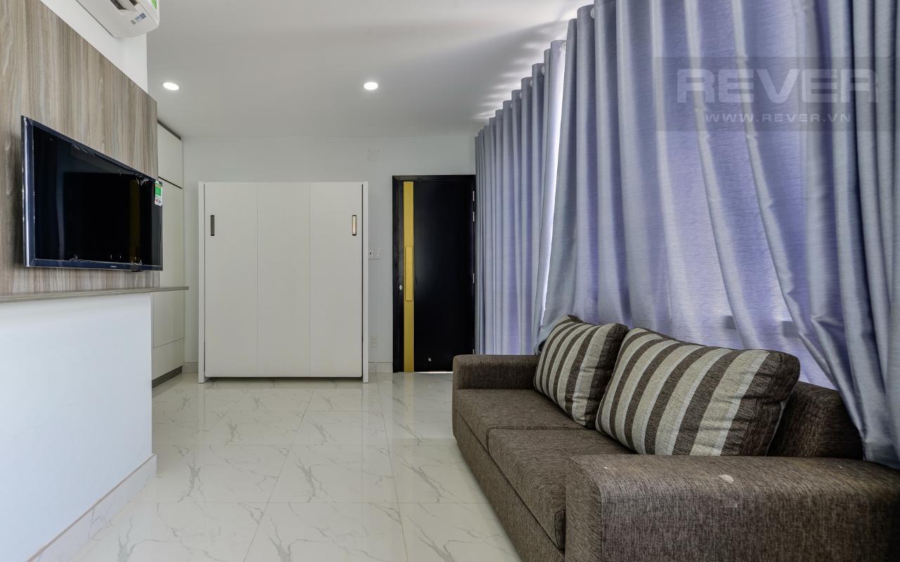Một phòng khách của M&T Building M & T Building cho thuê phòng đủ nội thất, nhiều diện tích sử dụng