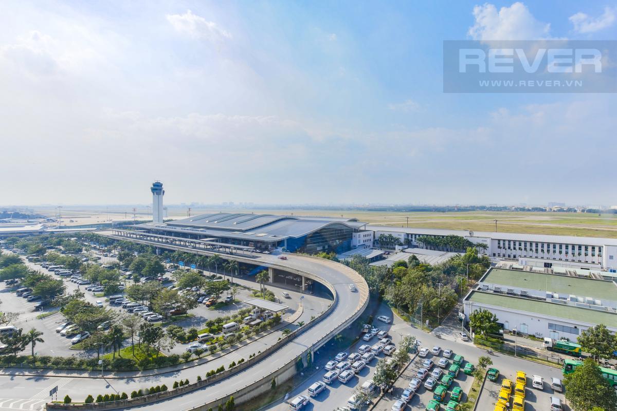 View căn hộ Căn hộ hướng Tây Bắc tầng cao B1 Saigon Airport
