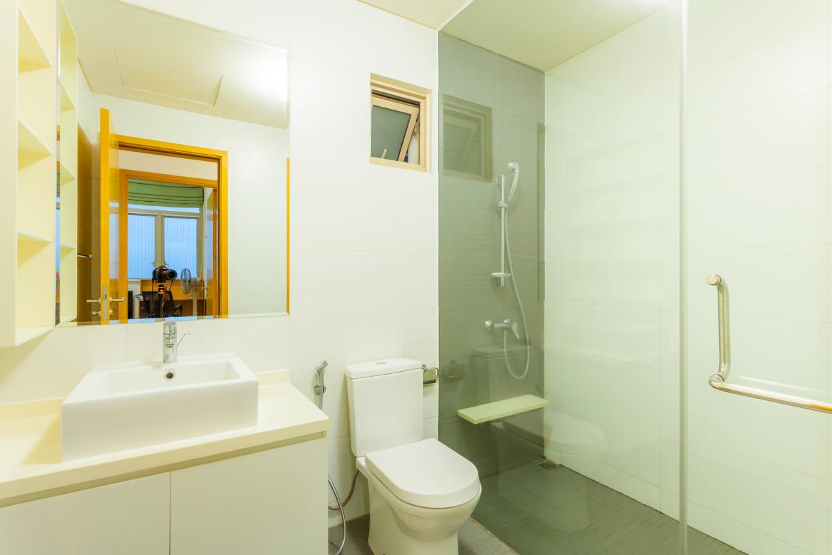 Phòng tắm Căn góc tầng cao tháp T4 The Vista An Phú