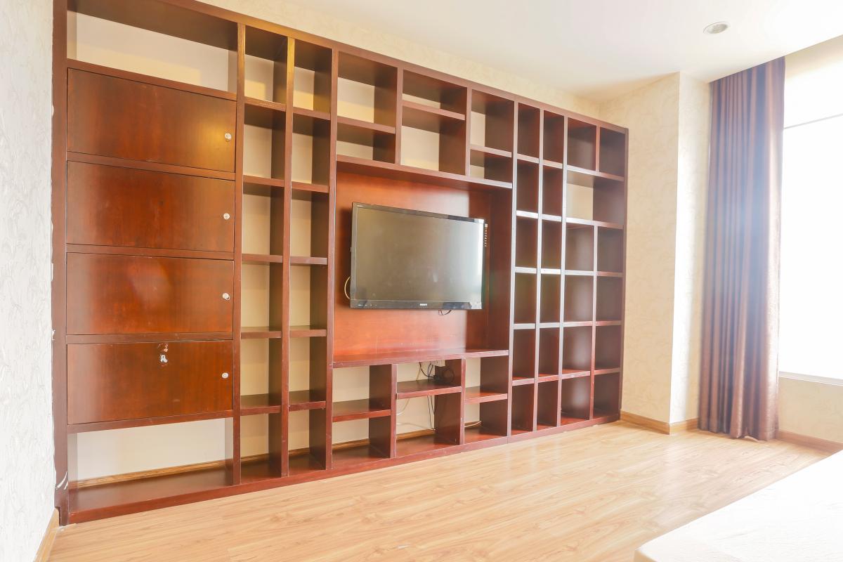 Nội thất Phòng ngủ chính Căn góc tầng cao Horizon Trần Quang Khải