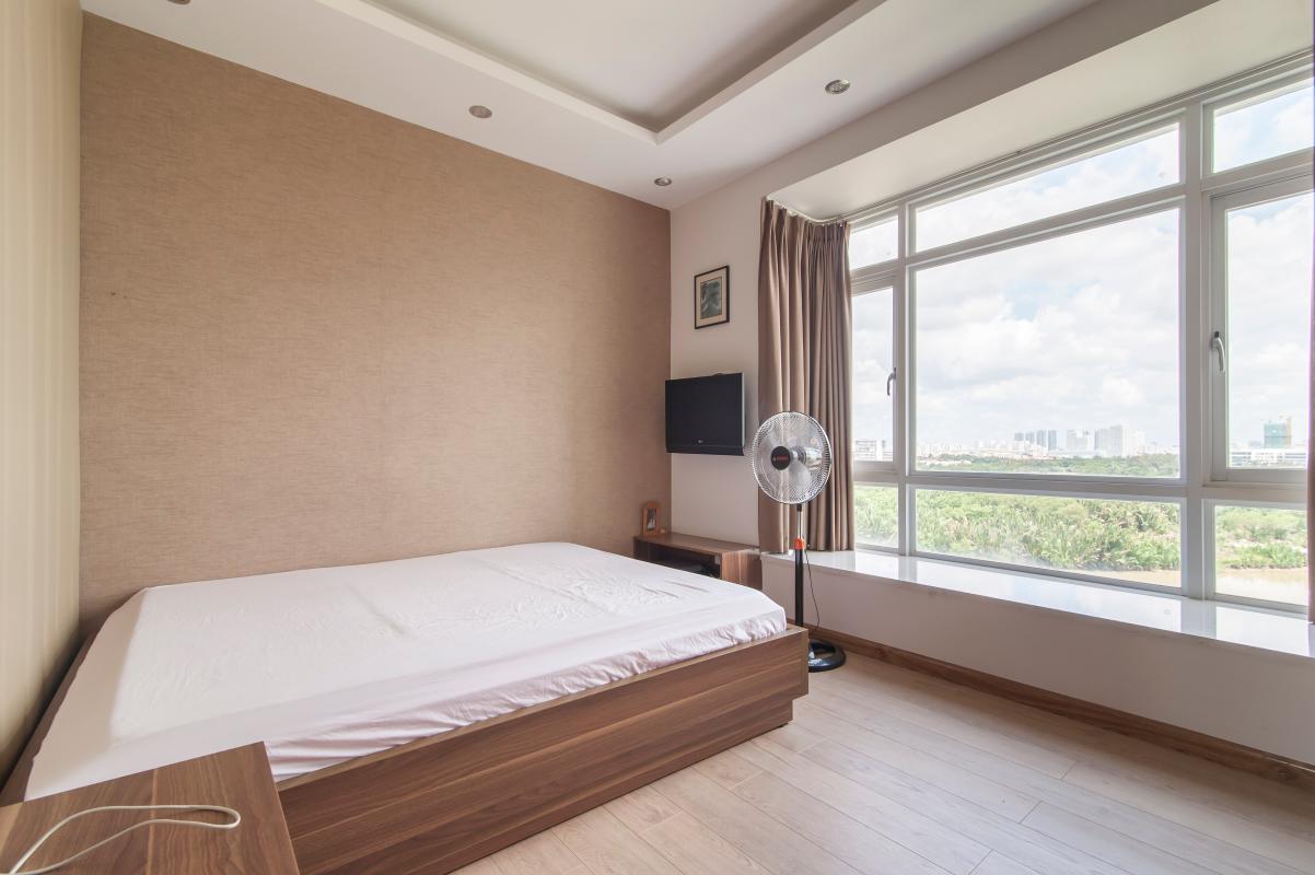 Phòng ngủ Căn hộ Riverside Residence tầng thấp tháp AL hướng Đông