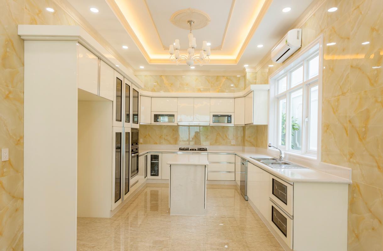 Phòng bếp sang trọng Villa 3 tầng Thảo Điền compound