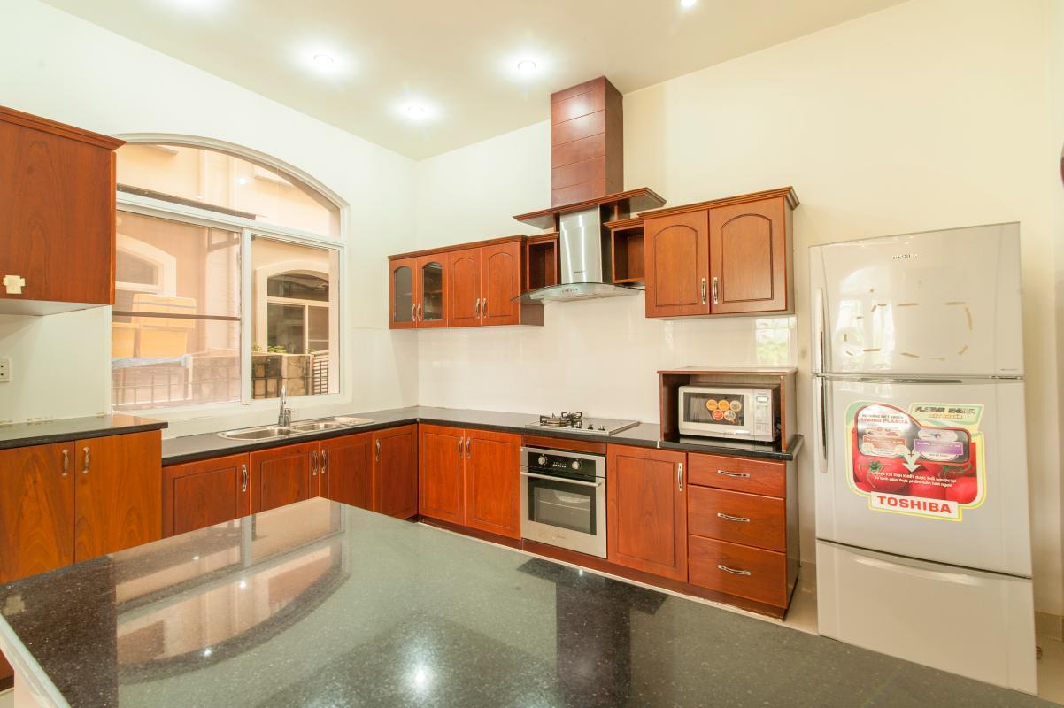 Phòng bếp Villa 3 tầng Mỹ Thái 3