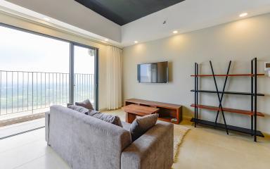 Căn hộ Masteri Thảo Điền 3 phòng ngủ tầng cao tháp T4 view thoáng mát về sông