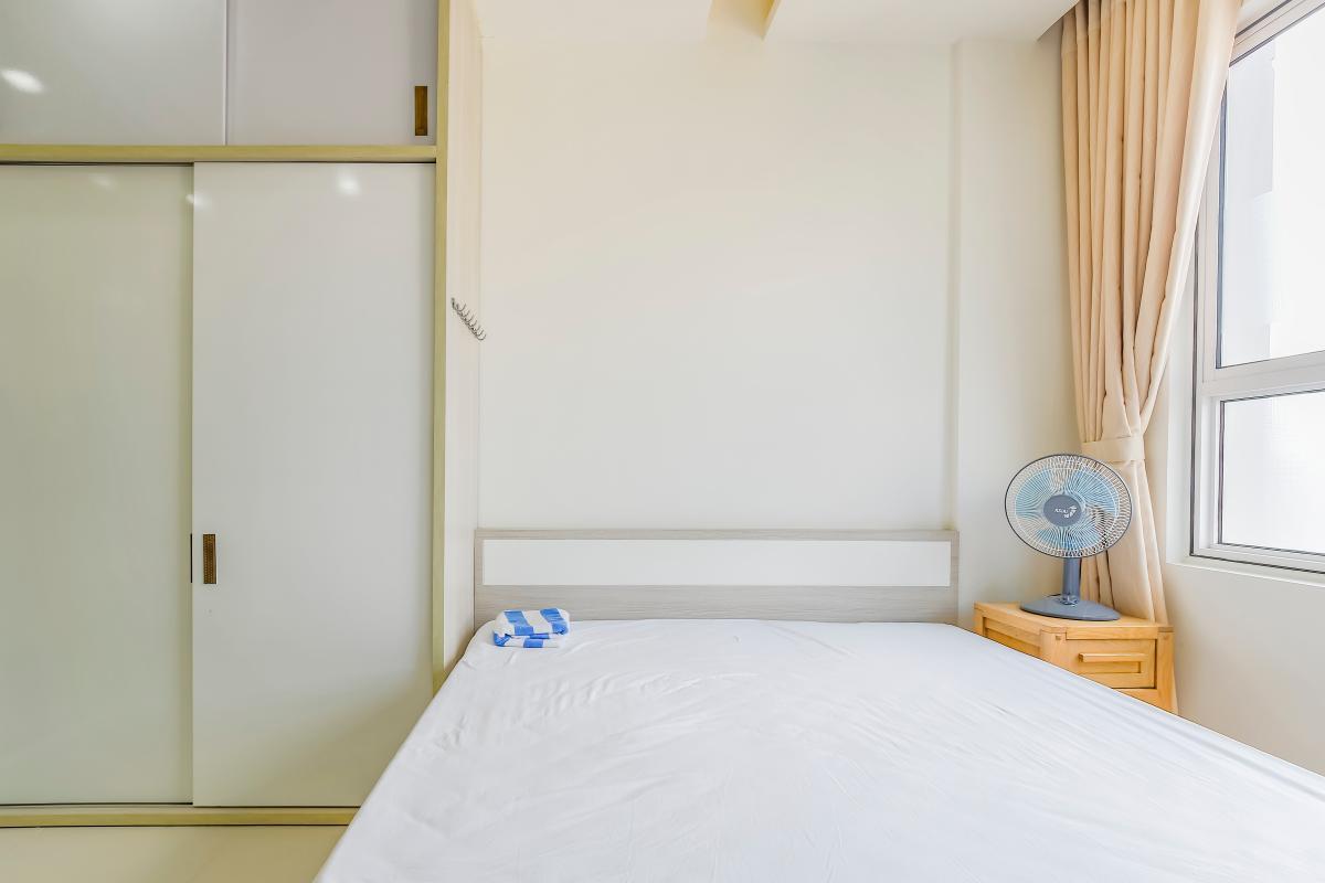 Nội thất phòng ngủ có thiết kế giản dị Căn hộ tầng cao LB Lexington Residence