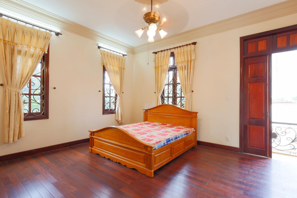 Phòng ngủ 1 Villa 2 tầng Trần Ngọc Diện Thảo Điền