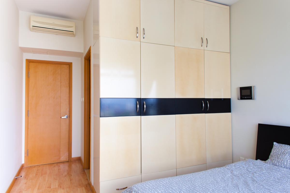 Nội thất phòng ngủ Căn hộ tầng cao Ruby 2 Saigon Pearl