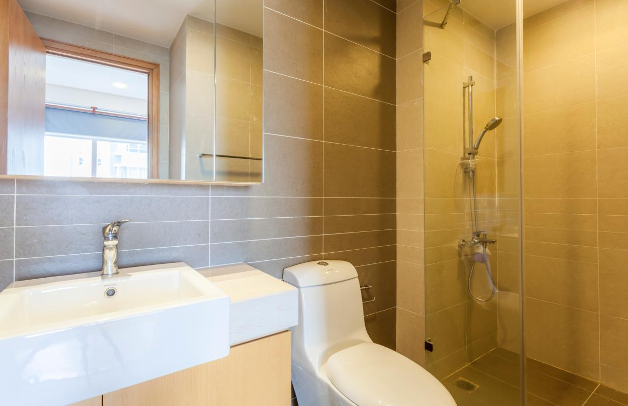 Phòng tắm Căn hộ tháp V4 Sunrise City