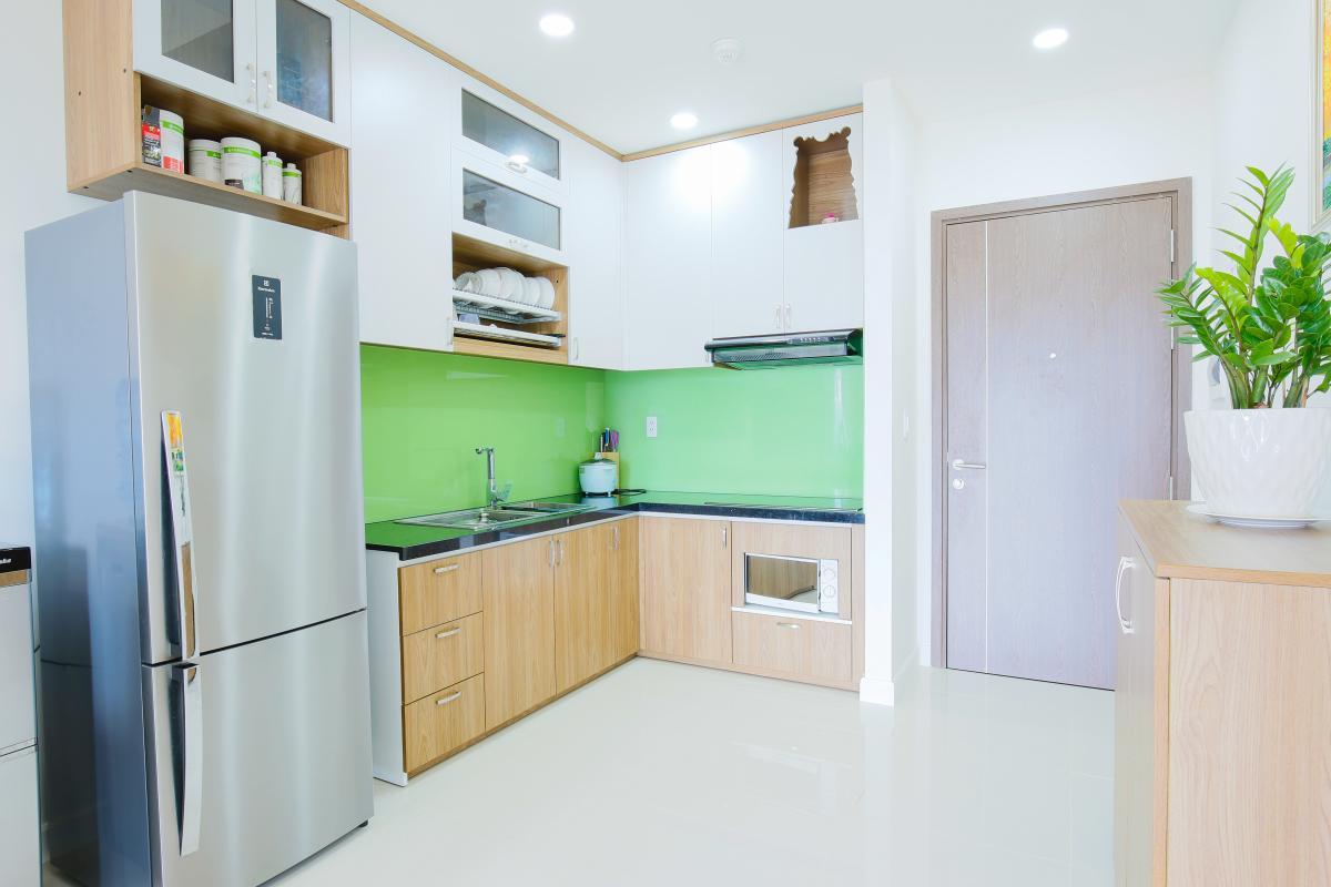 Phòng bếp Căn hộ Galaxy 9 tầng thấp G1 2 phòng ngủ, đủ nội thất