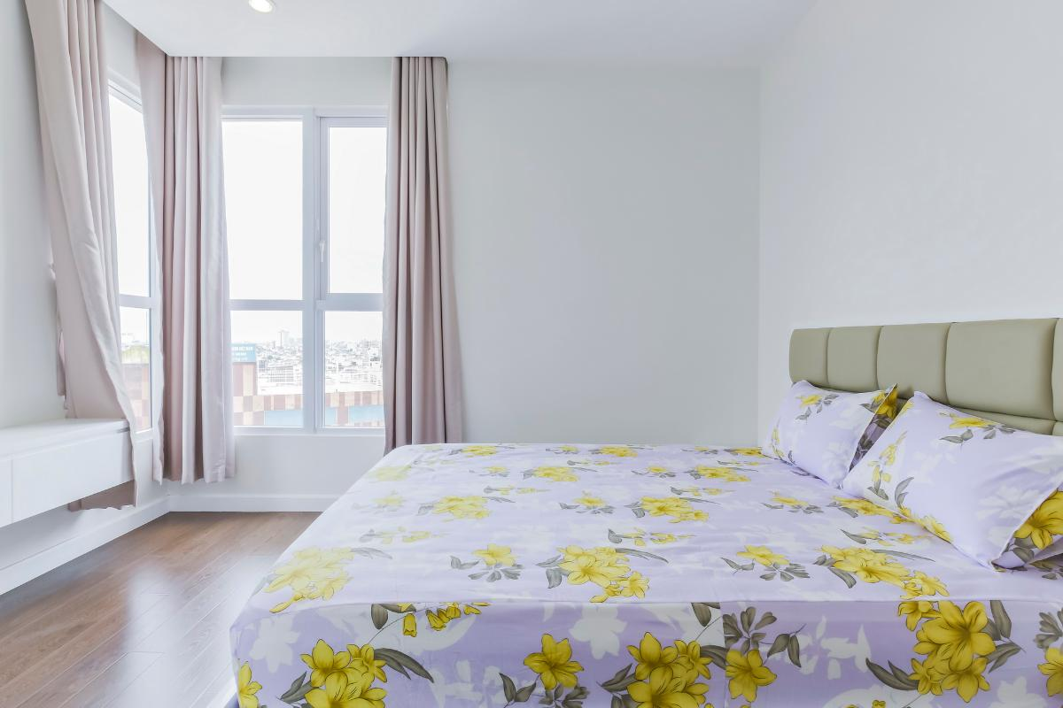 Phòng ngủ vị trí góc Căn góc tầng cao P1 Prince Residence