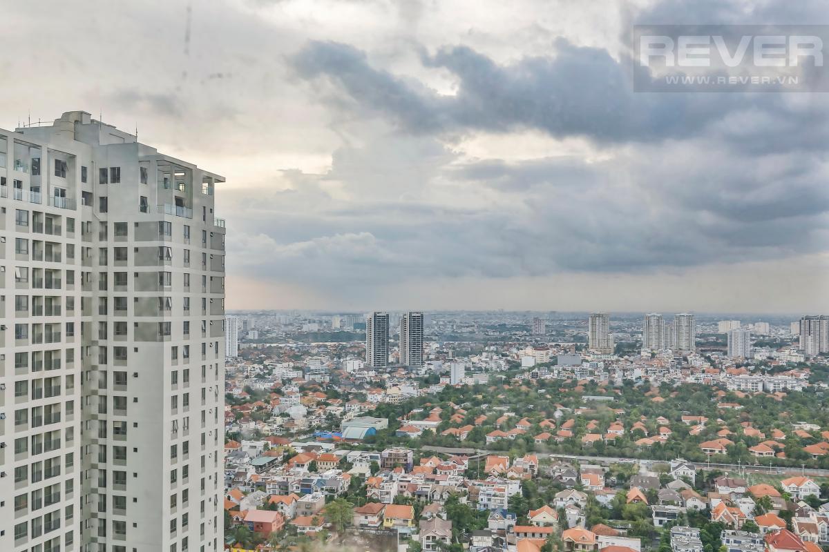 View Căn góc tầng cao hướng Đông Nam T4B Masteri Thảo Điền