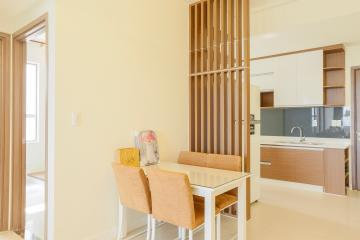 Căn hộ tầng cao Lexington Residence mộc mạc với sắc màu của gỗ 3