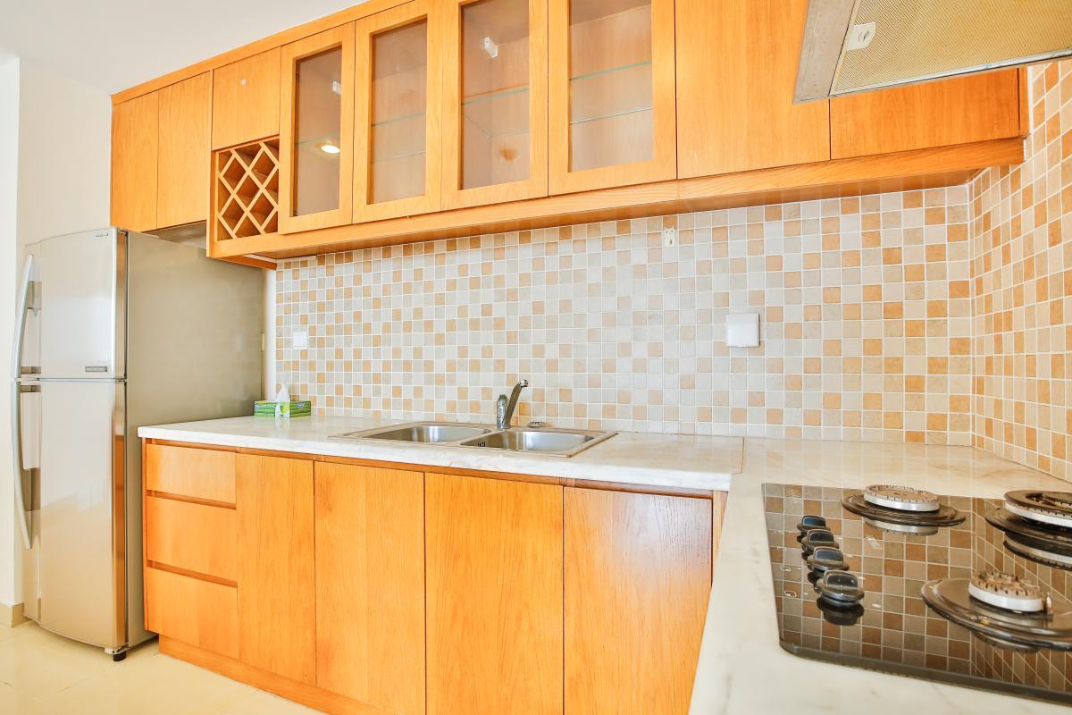 Phòng bếp Căn hộ 2 phòng ngủ River Garden Thảo Điền