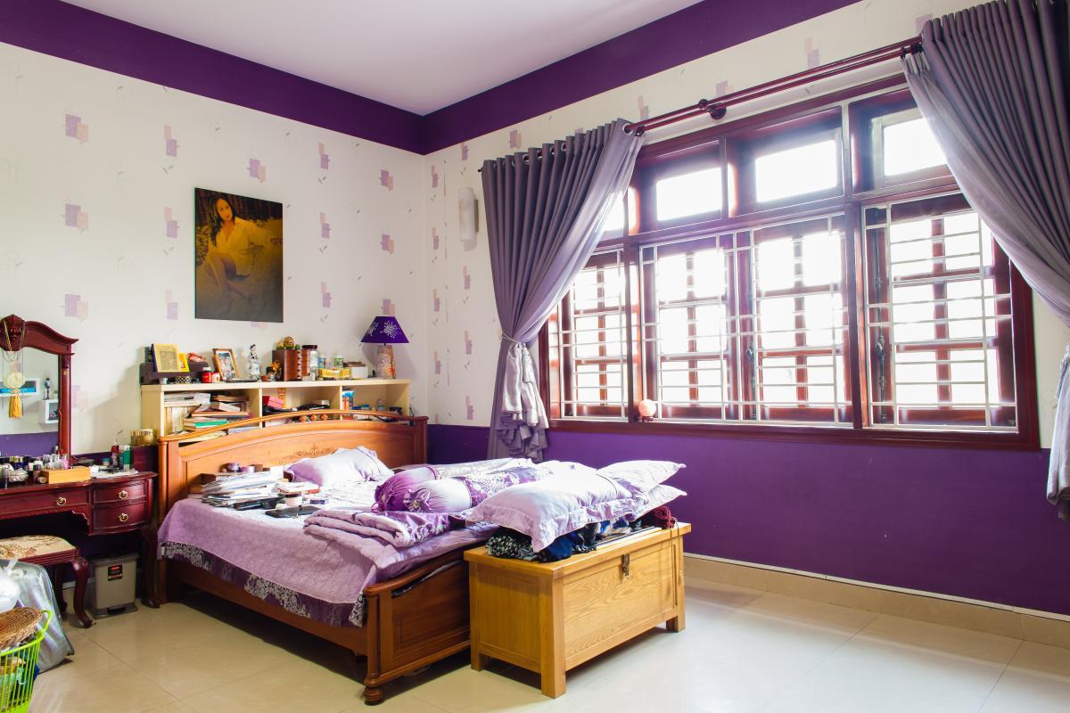 Phòng ngủ chính Villa 3 tầng đường Số 20 Linh Đông Thủ Đức