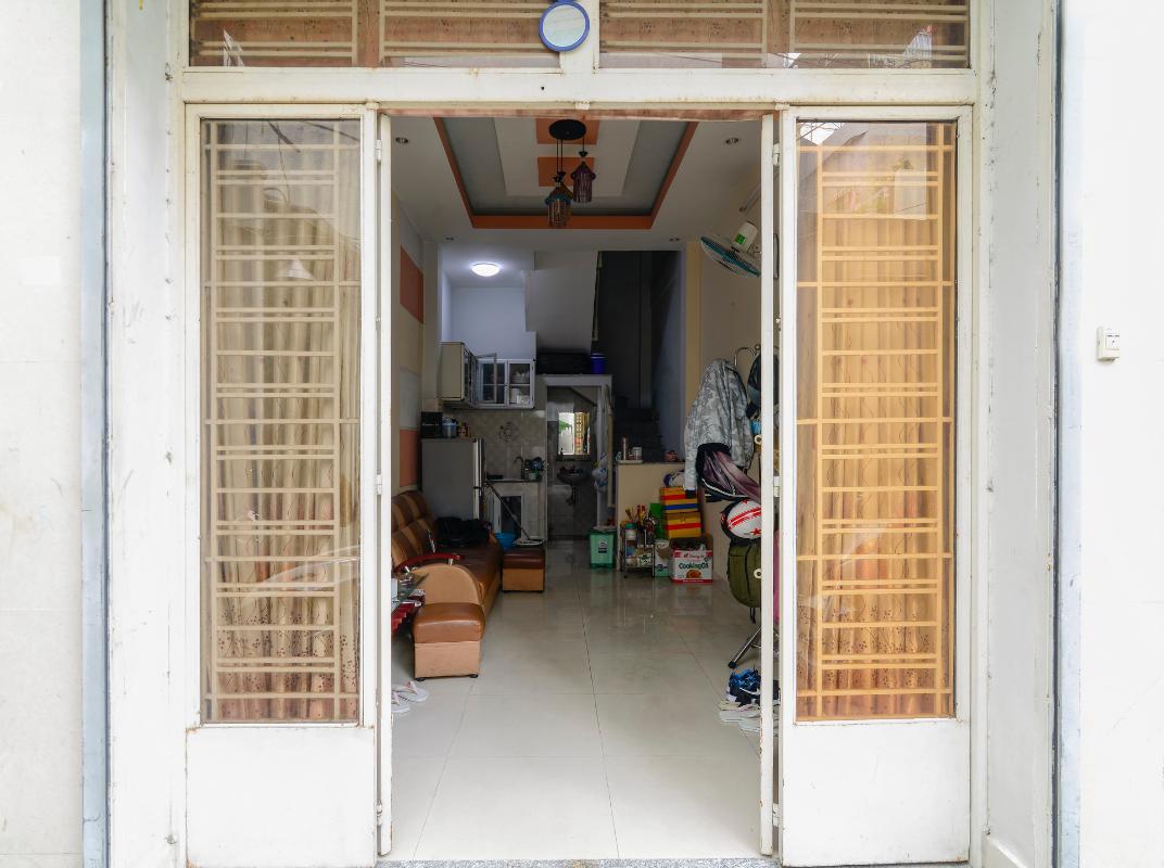 Mặt tiền nhà Nhà 2 tầng hẻm Phan Xích Long Phú Nhuận
