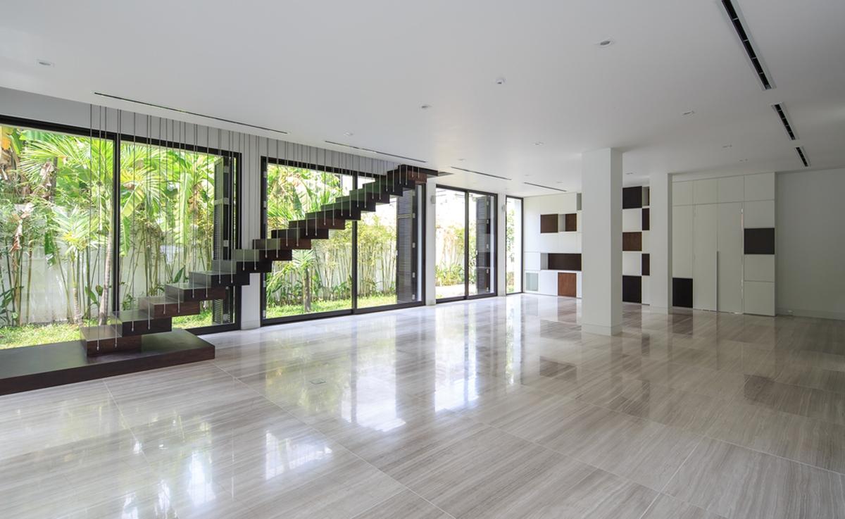 Phòng khách Villa Lily Thảo Điền Compound