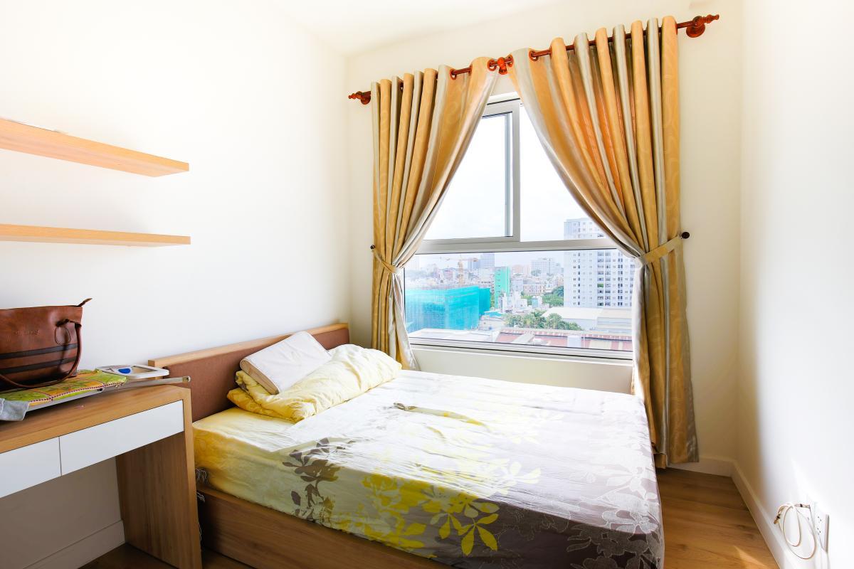Phòng ngủ đón nắng Căn hộ Galaxy 9 tầng thấp G1 2 phòng ngủ, đủ nội thất
