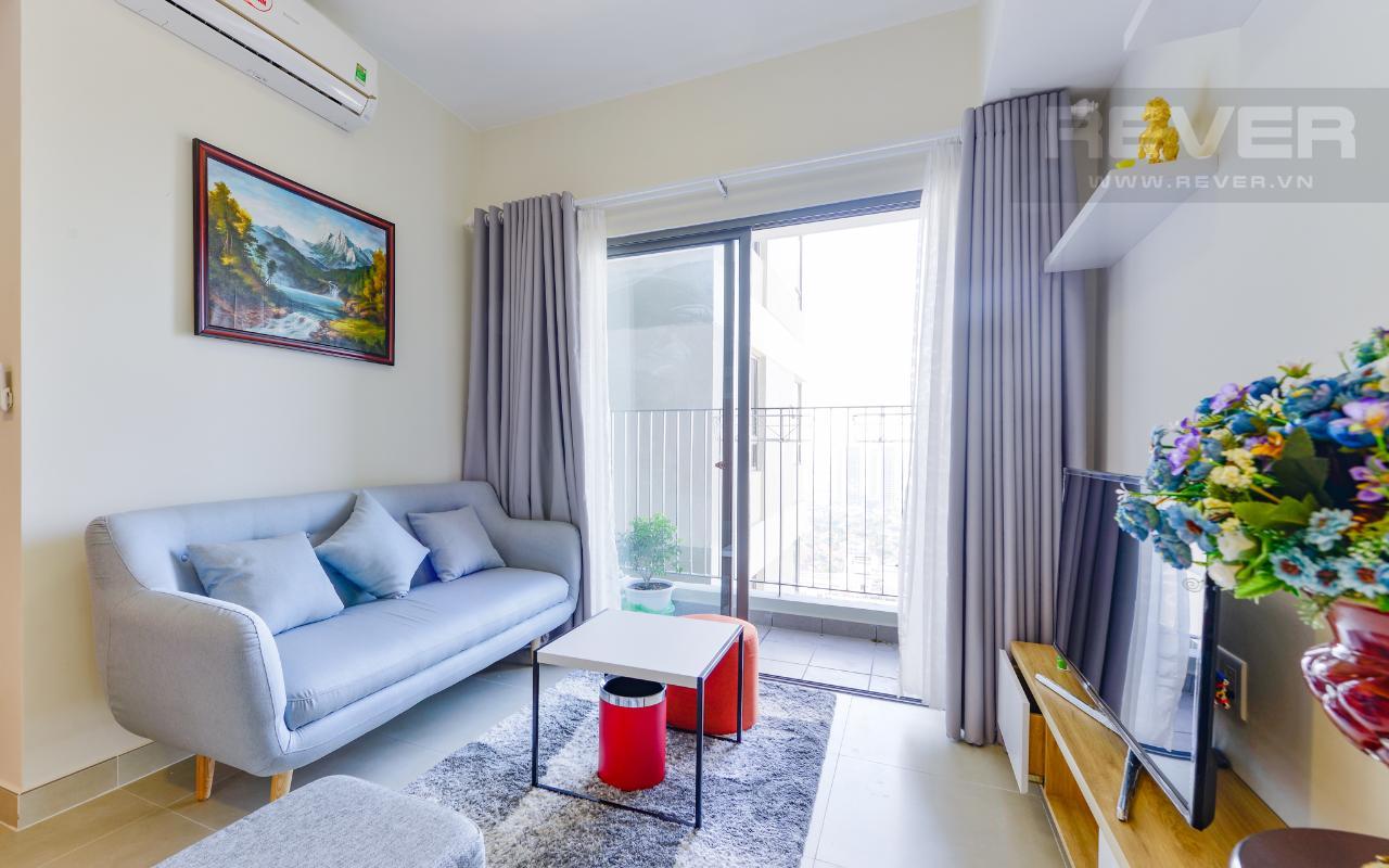 Căn góc Masteri Thảo Điền 2 phòng ngủ tầng cao T1 nội thất đầy đủ