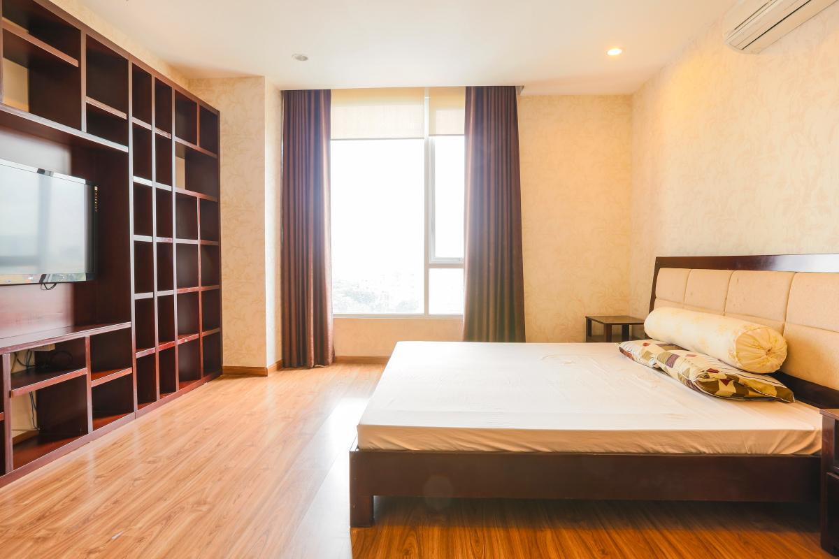 Phòng ngủ chính Căn góc tầng cao Horizon Trần Quang Khải