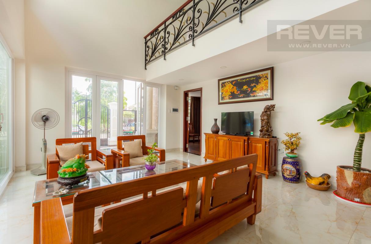 Nội thất phòng khách Villa 3 tầng Đường Số 14 Hoàng Quốc Việt