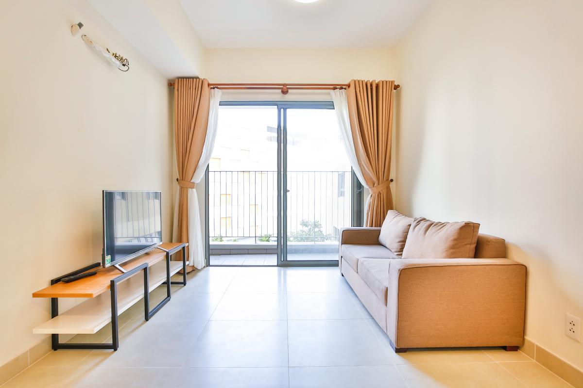 Phòng khách hiện đại Căn hộ 2 phòng ngủ hướng Đông Nam T1A Masteri Thảo Điền