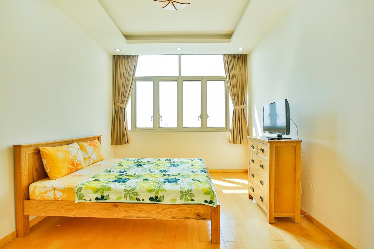 Phòng ngủ 1 Căn hộ 2 phòng ngủ tầng cao T2 The Vista An Phú