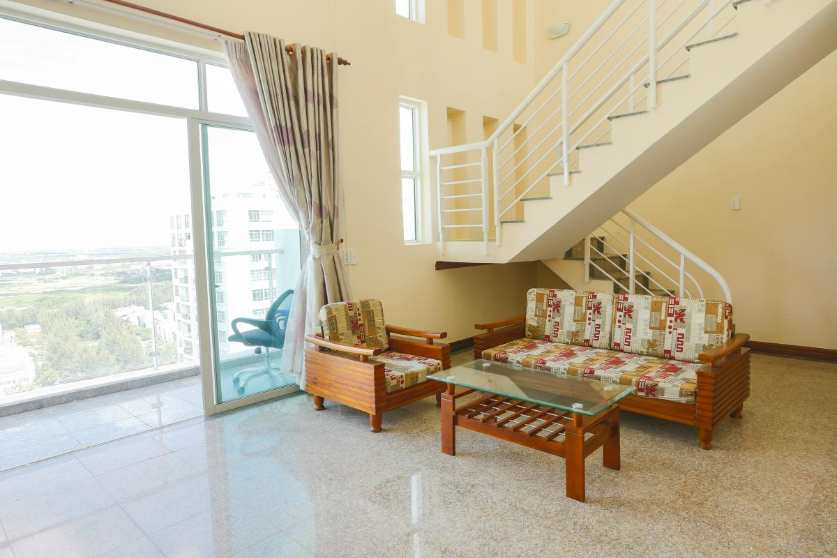 Sofa truyền thống Penthouse 4 phòng ngủ D1 The New Saigon