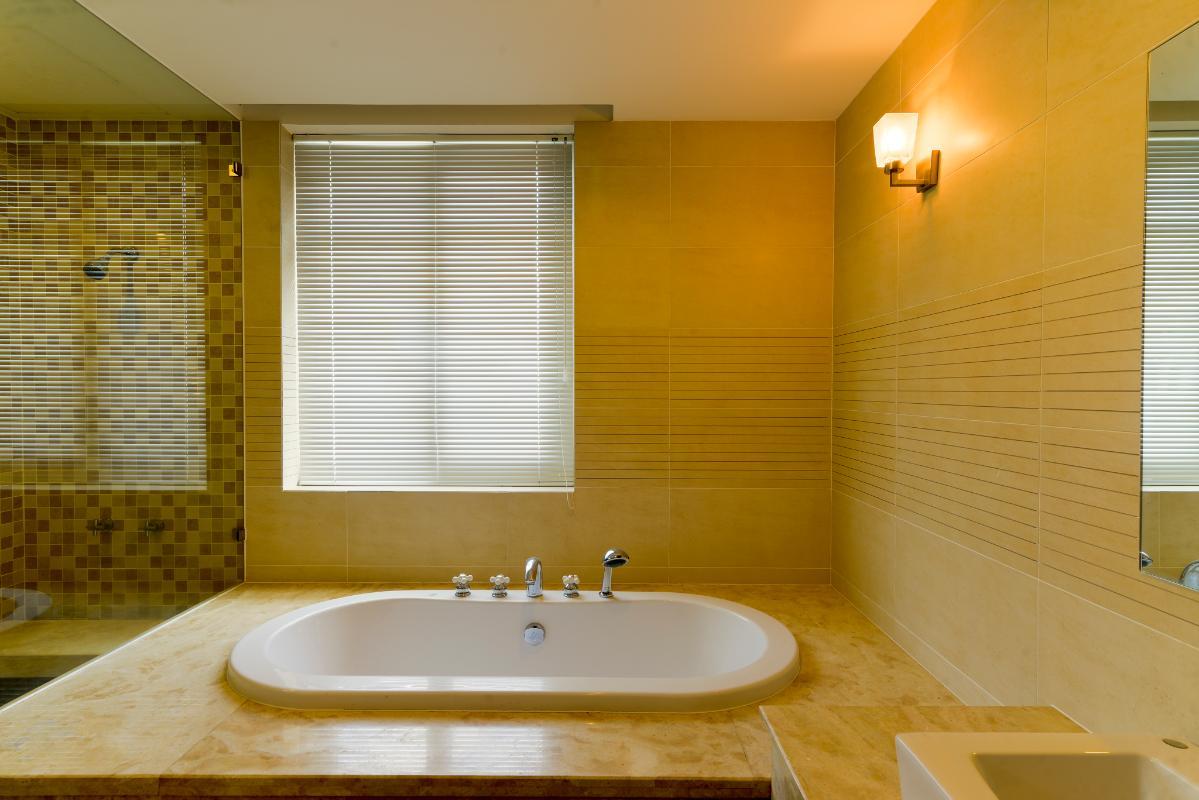 Phòng tắm chính Villa 3 tầng ABC Compoud Trần Não