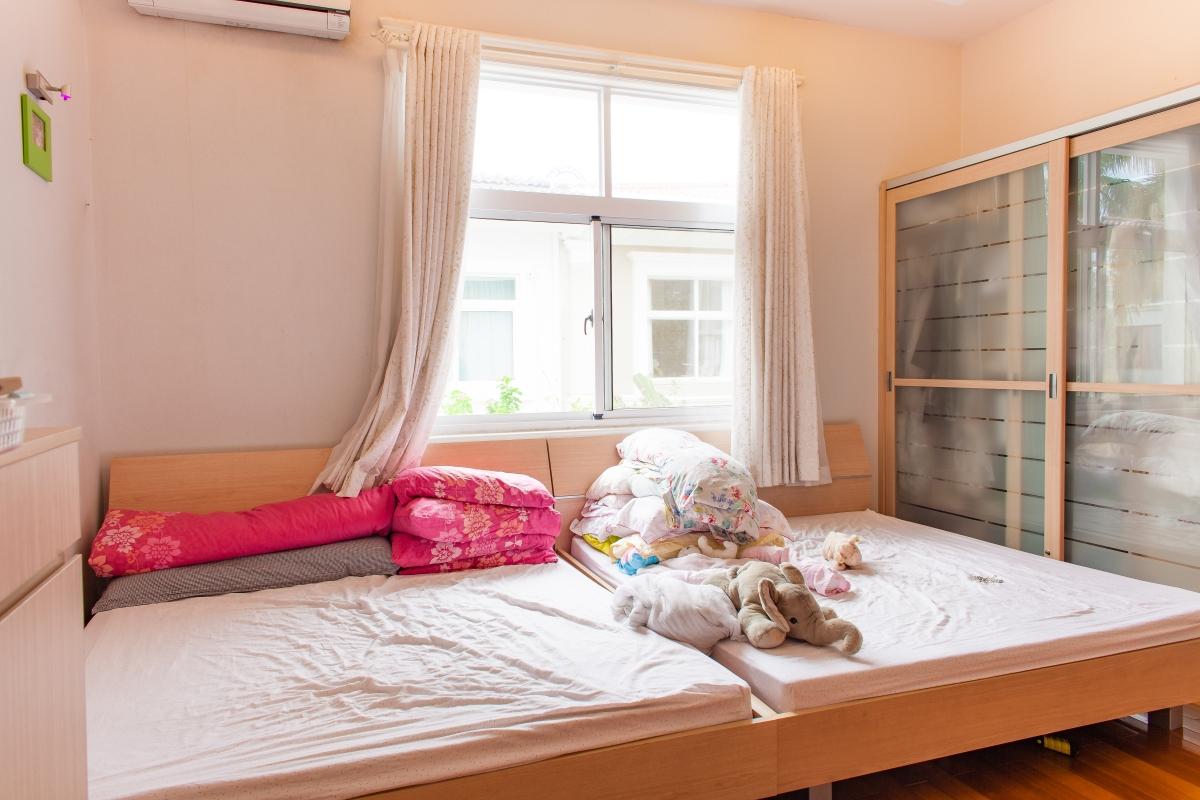 Phòng ngủ cho con trẻ Villa 2 tầng đơn lập Mỹ Phú 1A