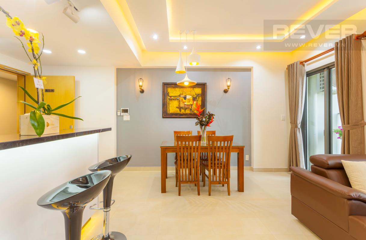 Bộ bàn ghế hiện đại Căn hộ tầng cao T3B Masteri Thảo Điền