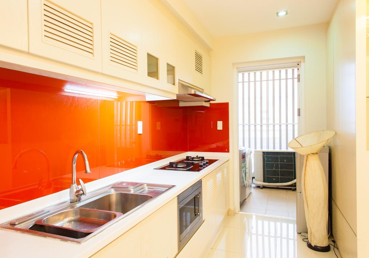Phòng bếp Căn hộ Riverpark Residence