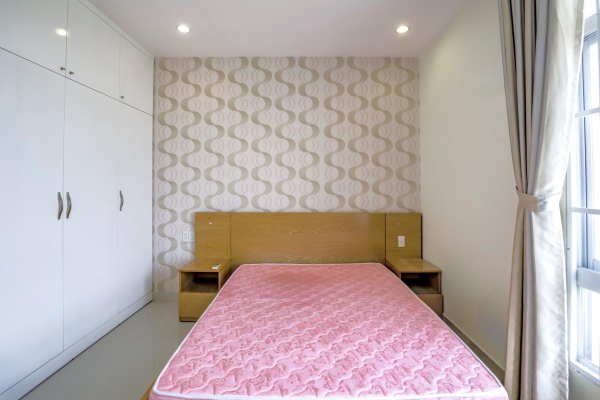 Phòng ngủ 1 Căn góc tầng cao tháp B Riverside Residence