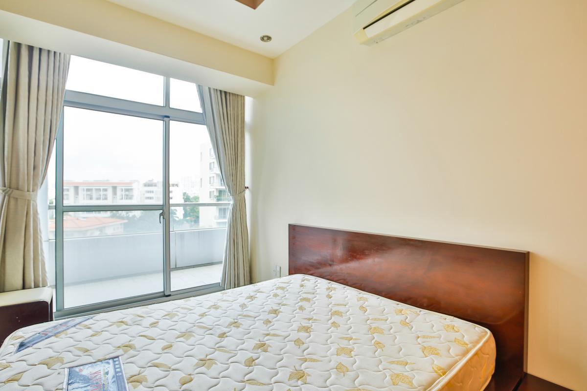 Phòng ngủ nhỏ có ban công Căn hộ 3 phòng ngủ tháp 3A Garden Court 1