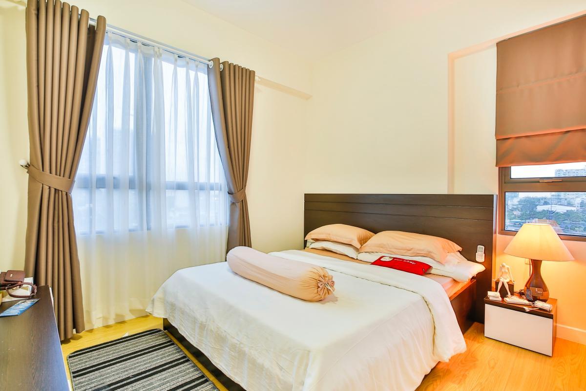 Phòng ngủ Căn hộ tháp T4 Masteri Thảo Điền