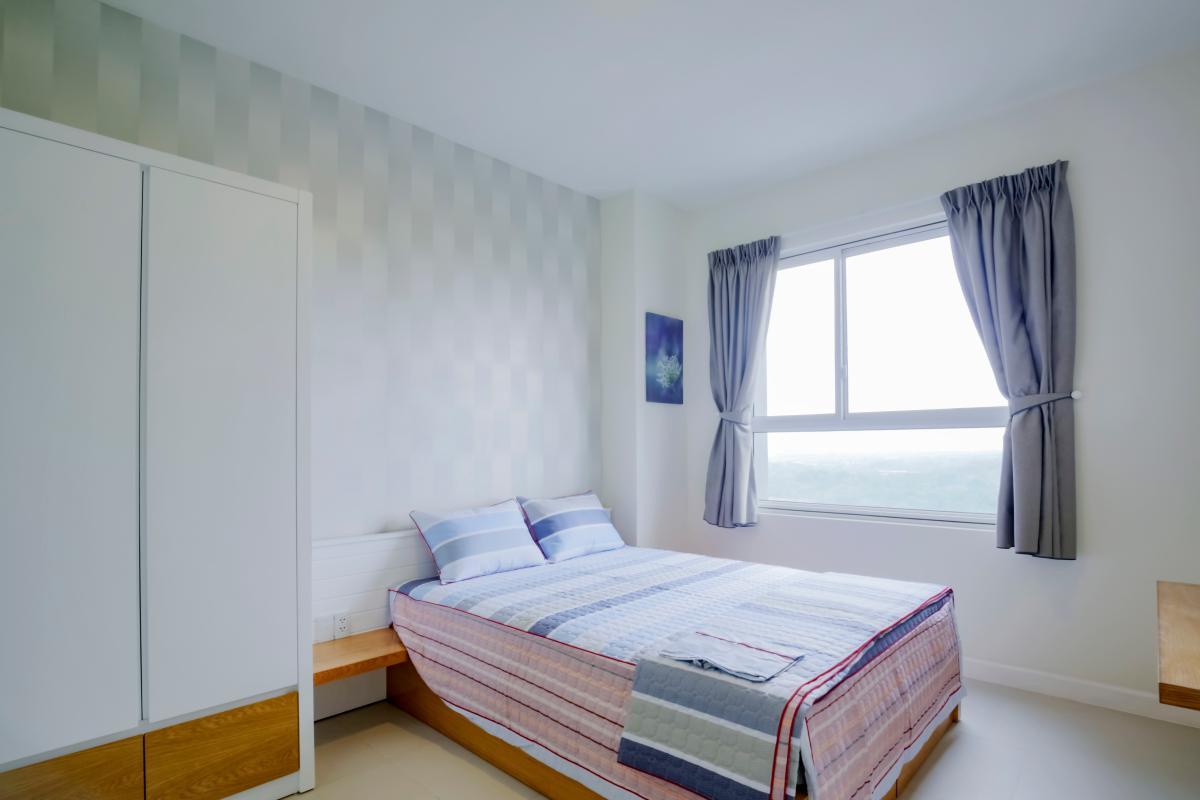 Phòng ngủ chính Căn hộ Lexington Residence tầng cao LC hướng Đông Nam