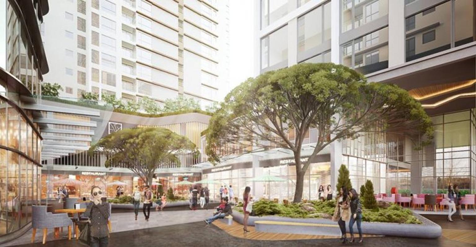 Gateway Thảo Điền - Phối cảnh công viên nội khu