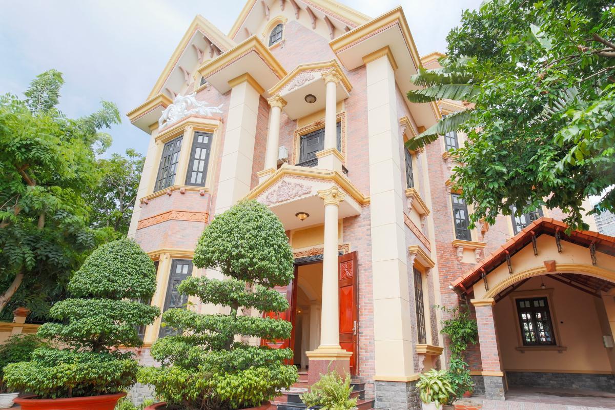 Kiến trúc hiện đại của villa Villa 2 tầng Trần Ngọc Diện Thảo Điền
