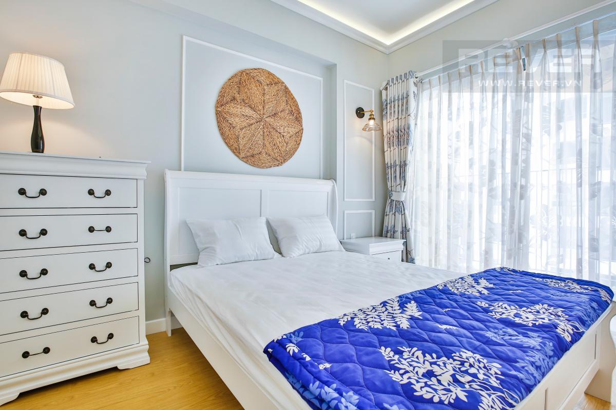 Phòng ngủ 1 sang trọng Căn hộ tầng thấp hướng Tây Nam T3A Masteri Thảo Điền