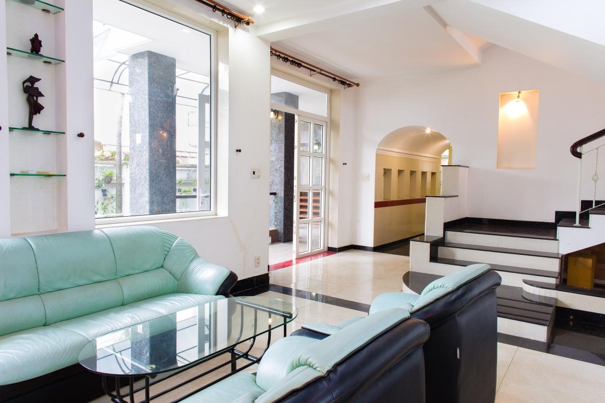 Phòng khách hướng Bắc Villa đường số 14 Fideco Thảo Điền Quận 2