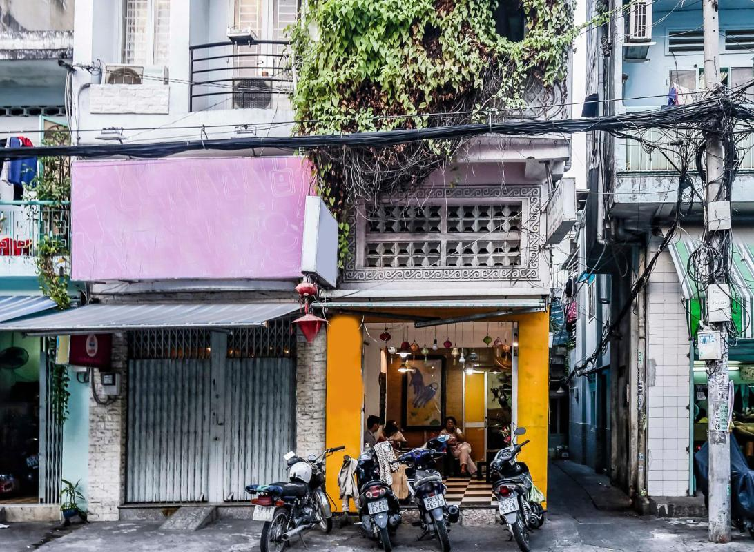 Nhà 4 tầng mặt tiền Nguyễn Phúc Nguyên quận 3