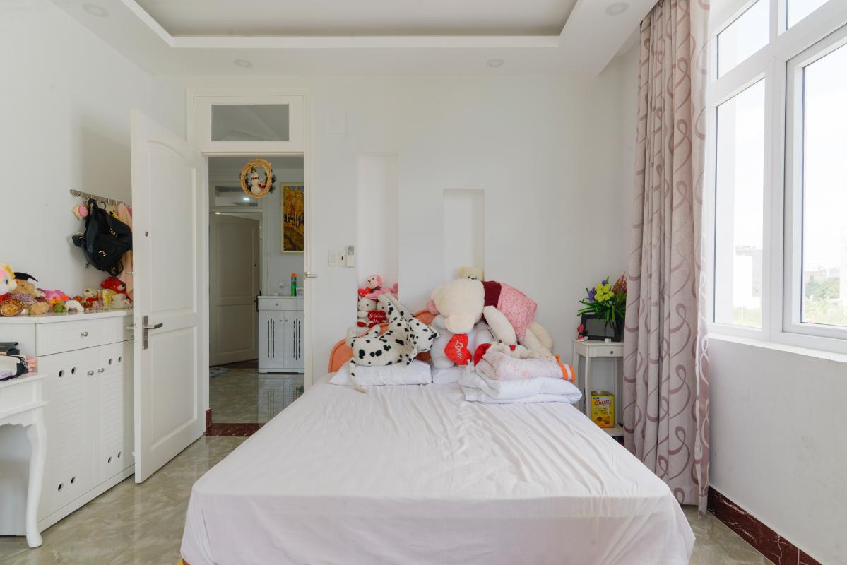 Phòng ngủ nhỏ trẻ trung Villa 3 tầng compoud Hà Đô