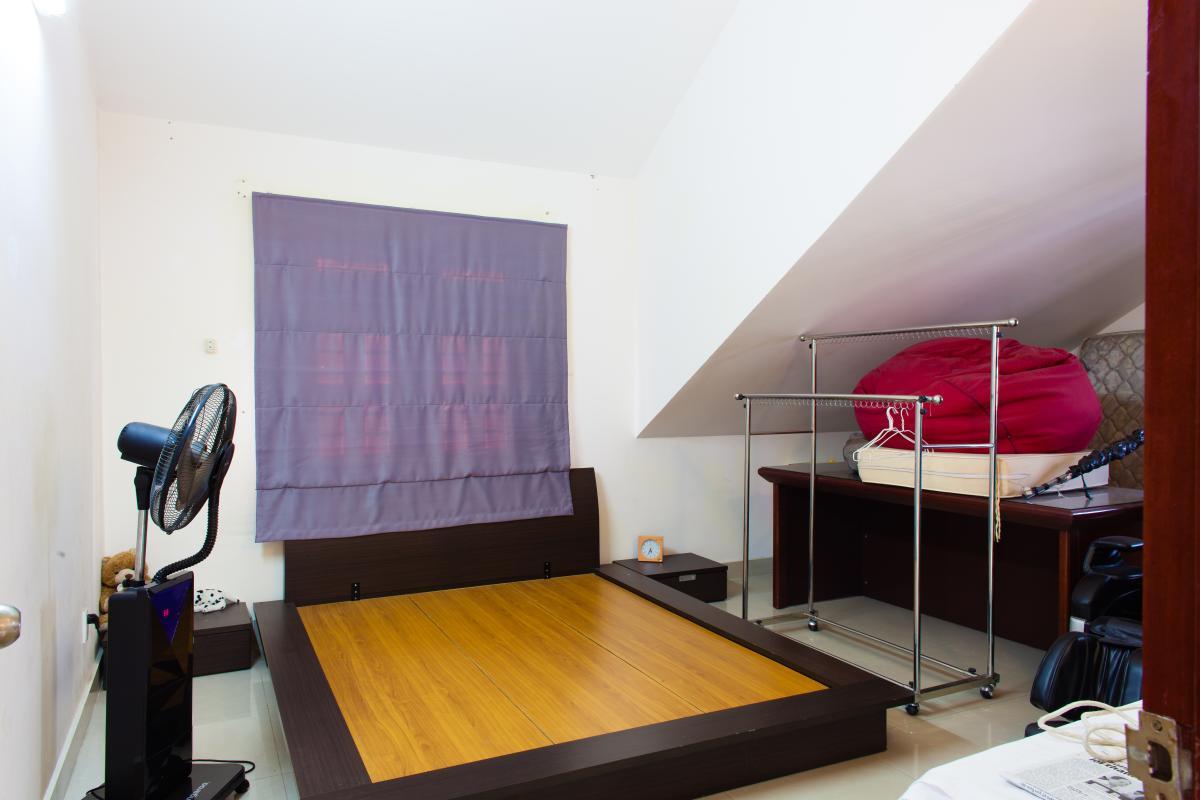 Phòng ngủ tầng áp mái Villa 3 tầng đường Số 20 Linh Đông Thủ Đức