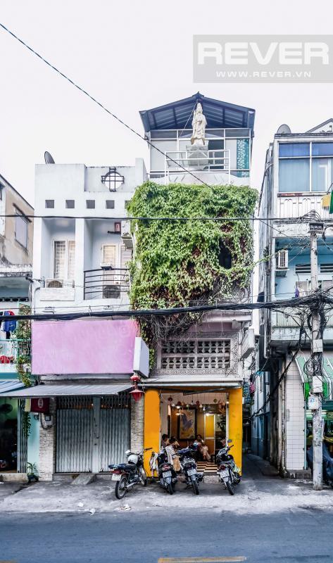 Mặt tiền nhà Nhà 4 tầng mặt tiền Nguyễn Phúc Nguyên quận 3