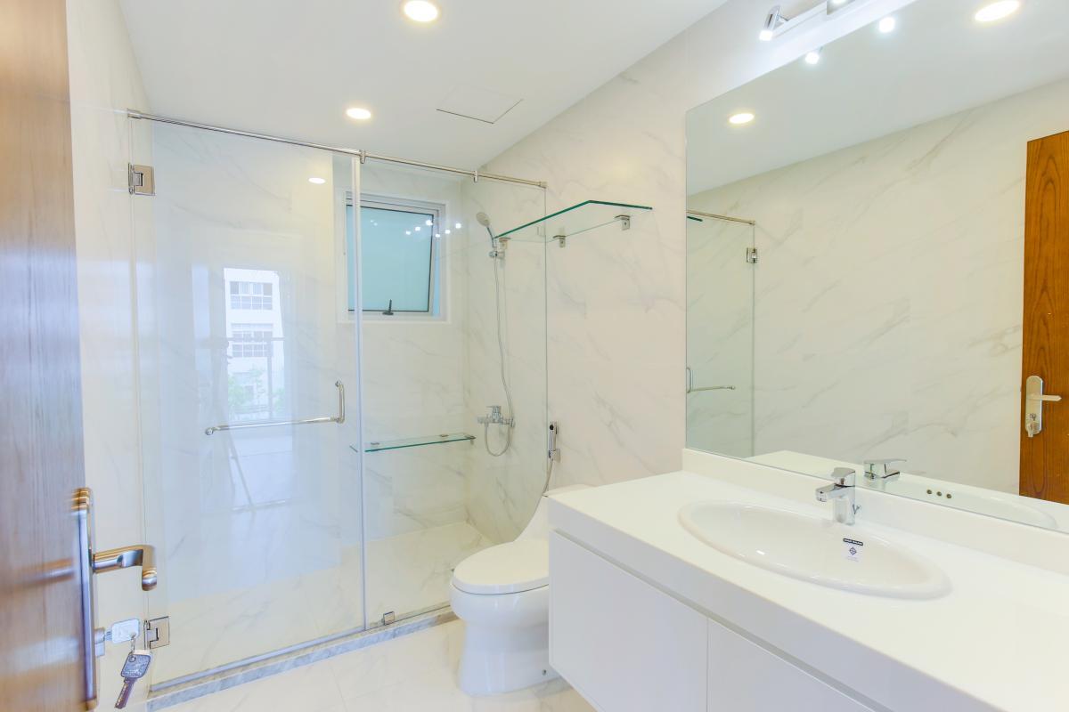 Phòng tắm Căn hộ tháp D Happy Valley